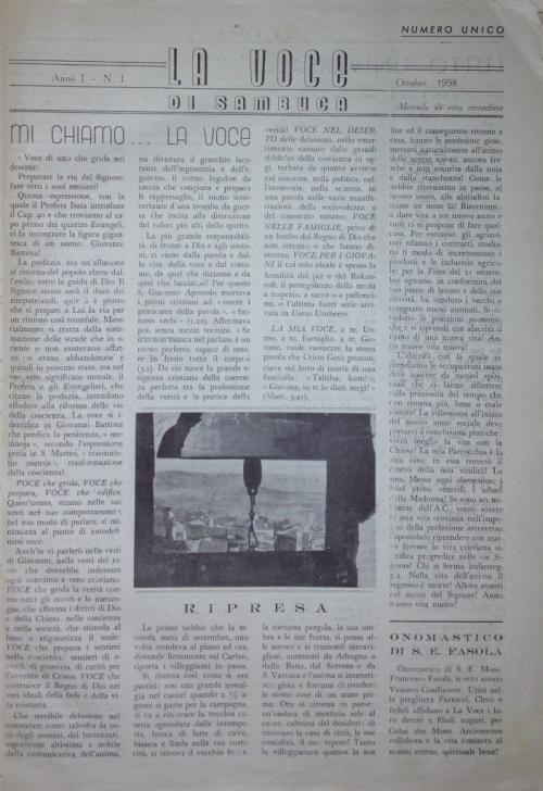 ANTEPRIMA n.1 pag.1